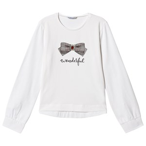 Image of Mayoral White Jewel Bow Tee 16 years (3125240865)