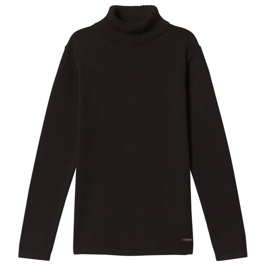 Mayoral Classic Black Knit Turtleneck 21