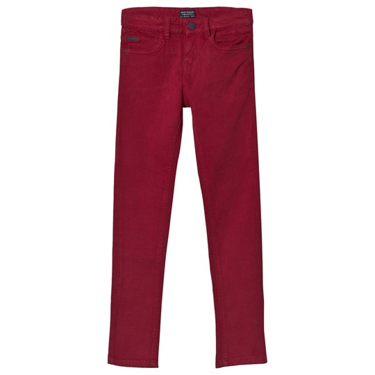 Mayoral Slim Fit Chinos Burgundy 36