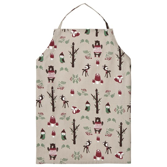 FORM Living Forest Animals Apron Green