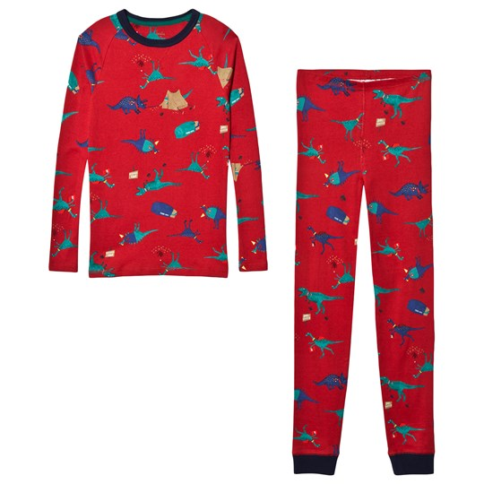 Tom Joule Red Kipwell Dino Camping Print Pajamas RED DINO SCOUT