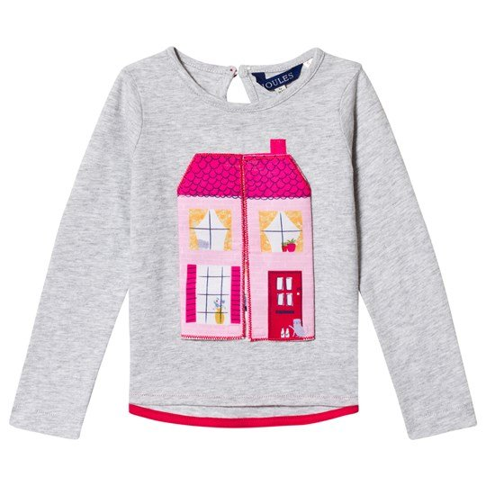 Tom Joule Grey Marl Doll House Tee GREY DOLL HOUSE