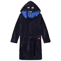 Tom Joule Navy Bruce Bear Hooded Bathrobe NAVY BEAR 3ae4272a3