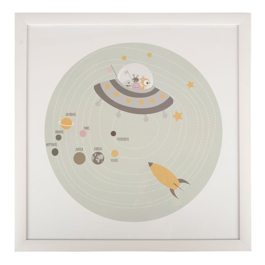 FORM Living Planets Poster with Frame