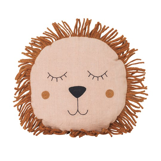 ferm LIVING Safari Cushion Lion Rose Mønstret