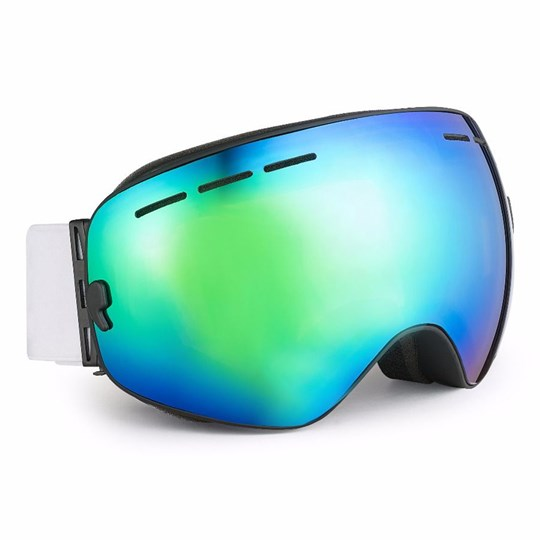 Perfect Moment Mountain Mission Ski Goggles RED / GREEN LENS