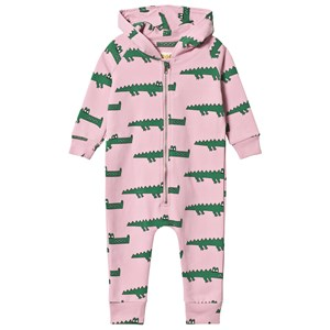 Image of Hugo Loves Tiki Crocodile Onesie Pink 4 år (3125271975)