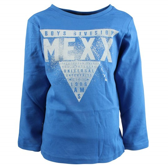 Mexx Kids Boys T-Shirt Stream Blue Blue