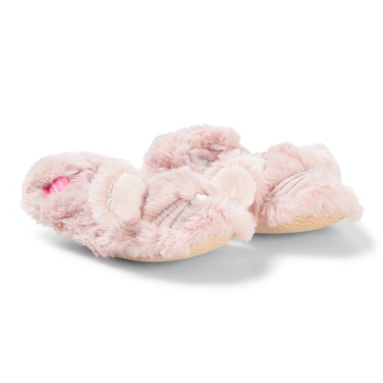 Tom Joule Ballet Pink Pippie Cat Slippers Soft Pink
