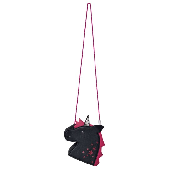 Tom Joule Navy & Pink Glitter Detail Unicorn Shoulder Bag Unicorn