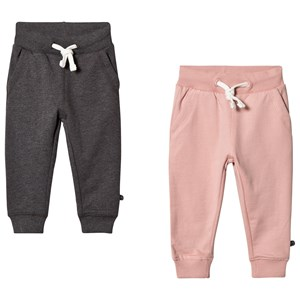 Image of Minymo 2-Pack Basic Sweatpants Blush 104 cm (3-4 år) (3139760021)