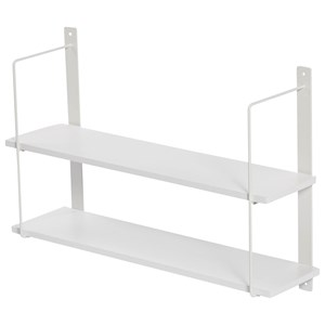 Image of JOX 2-Level Square Wall Shelf White One Size (1161460)