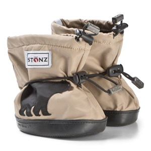Image of Stonz Black Bear Plus Foam Booties Beige L (1-2,5 years) (3125243267)