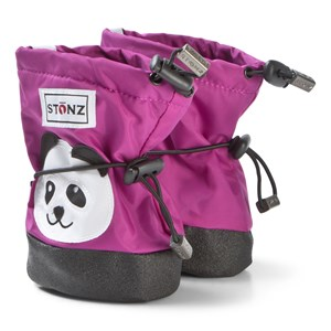 Image of Stonz Panda Plus Foam Booties Purple L (1-2,5 years) (3125243273)