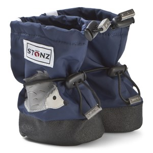 Image of Stonz Hedgehog Plus Foam Booties Midnight Blue L (1-2,5 years) (3125243277)