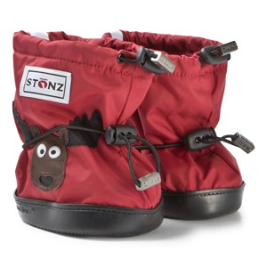 Image of Stonz Moose Plus Foam Booties Red L (1-2,5 years) (3125243281)