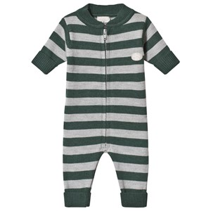 Image of Lillelam One-Piece Stripes Green 62 cm (2-4 mdr) (1173359)
