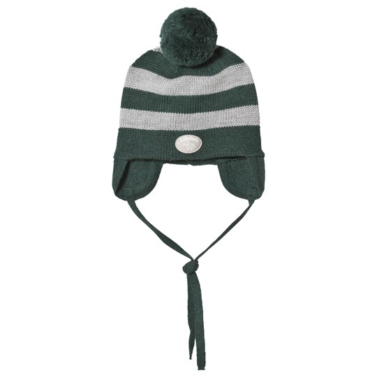 Lillelam Hat Stripes Green Green
