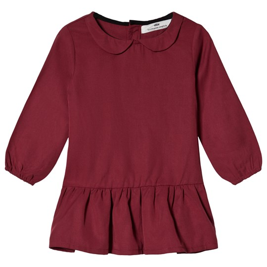 ebbe Kids Vanity Dress Dark Red Chili Dark red chili