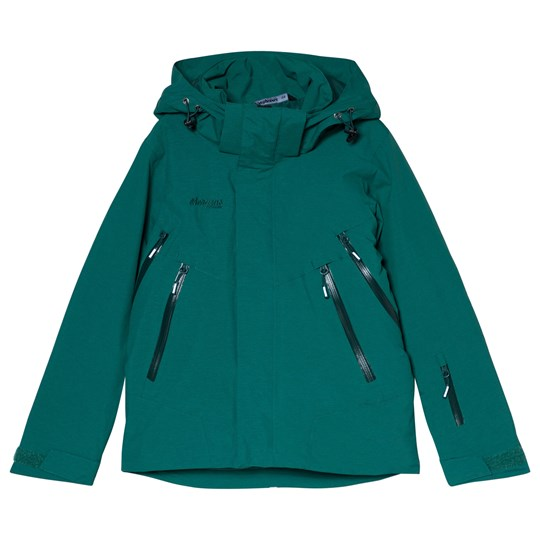 Bergans - Green Ervik Insulated Ski Youth Jacket - Babyshop.com 98bff2799