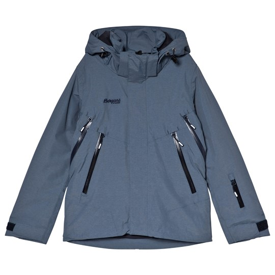 24036cc9 Bergans Navy Ervik Insulated Ski Youth Jacket Fogblue/Dark Navy