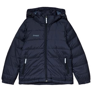 Image of Bergans Navy Rena Down Youth Windbreaker Jacket 128 cm (7-8 år) (1177738)