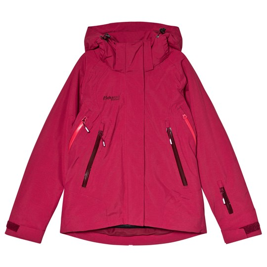 Bergans - Red Ervik Insulated Youth Ski Jacket - Babyshop.com b18702997