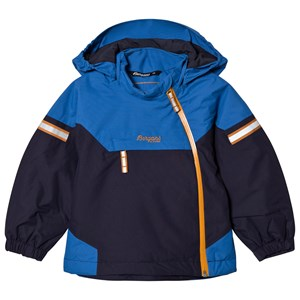 Image of Bergans Navy / Athens Blue Ruffen Insulated Jacket 104 cm (3-4 år) (3057831721)