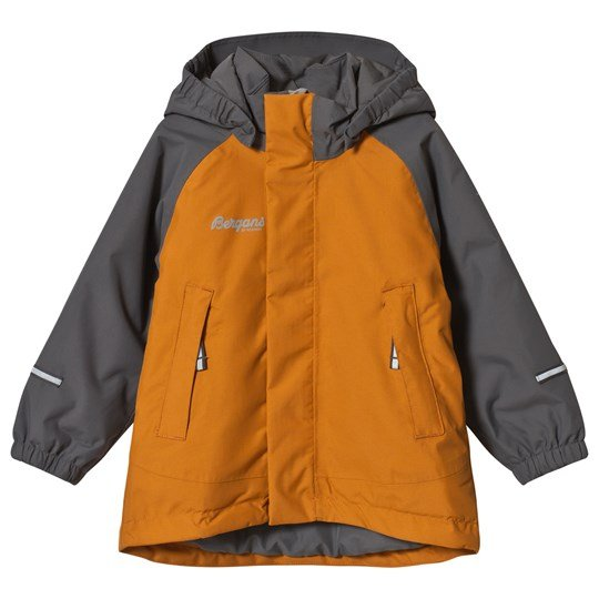 Bergans Storm Insulated Jacket Desert/Solid Dark Grey Desert
