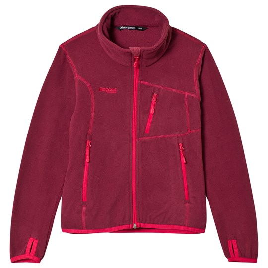 Bergans Red Runde Youth Fleece Jacket 10934