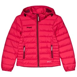 Bergans Red Down Youth Puffer Jacket