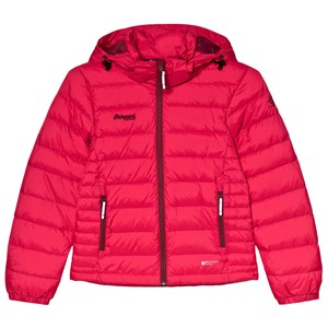 Image of Bergans Red Down Youth Puffer Jacket 128 cm (7-8 år) (3056110123)