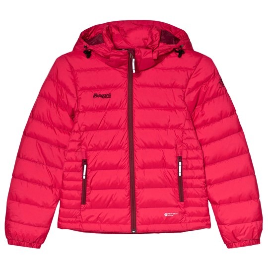 Bergans Red Down Youth Puffer Jacket 10934