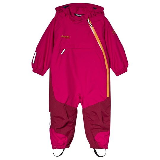 Bergans Hot Pink Snötid Kids Ski Suit 10986