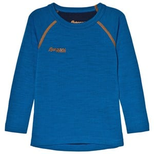 Image of Bergans Blue Long Sleeve Tee 86 cm (1-1,5 år) (1196511)