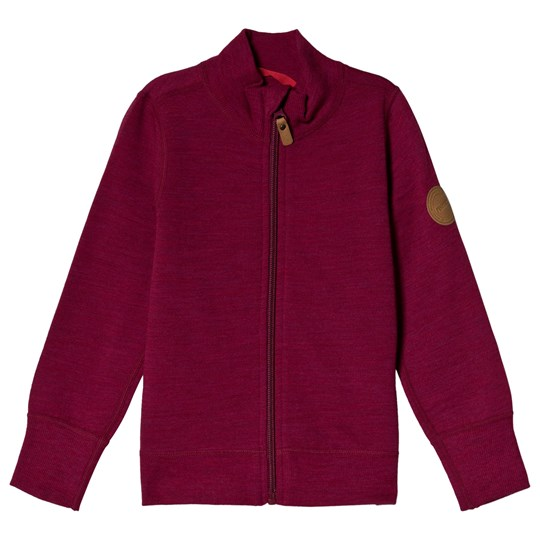 Reima Mahin Zip Jacket Dark Berry Dark Berry
