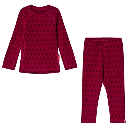 Reima Taival Thermal Set Cranberry Pink Cranberry Pink