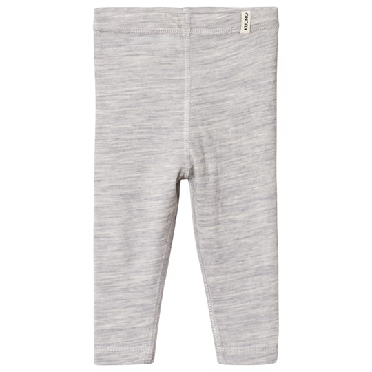 Kuling Merino Wool Pants Grey Melange
