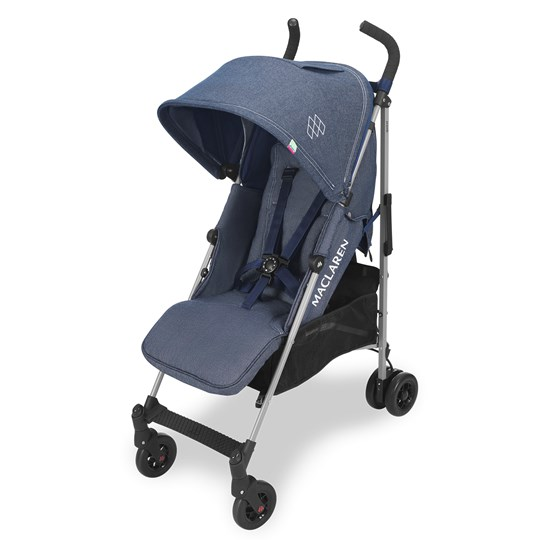 Maclaren Quest Buggy Denim Indigo Stroller Denim Indigo
