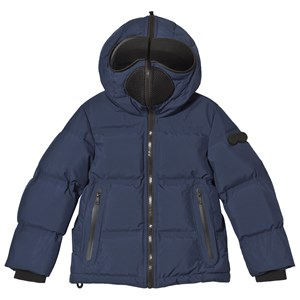 Image of AI Riders on the Storm Navy Down Goggle Hooded Jacket 4 years (3125271679)