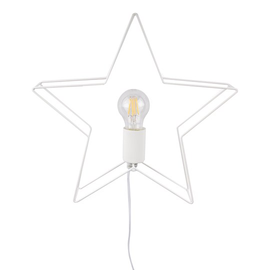FORM Living Christmas Star Shine Light in White
