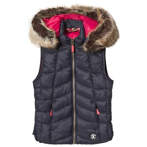Image of Barbour Navy Bernera Gilet XS (4-5 years) (3125315037)