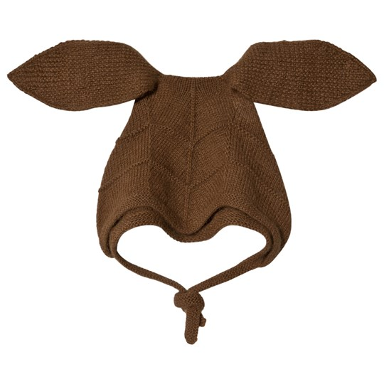 Huttelihut Rabbit Hat with Long Ears Oak