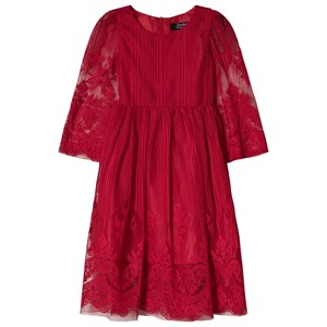 Image of Jocko Burgundy Lace Dress 104 cm (3-4 år) (1172382)