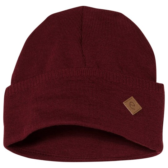 ebbe Kids Rim Beanie Deep Red Deep Red