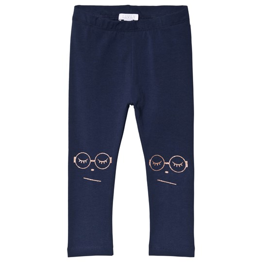 Livly Sleeping Cutie Glasses Essential Pants Navy navy/ sleeping cutie glasses