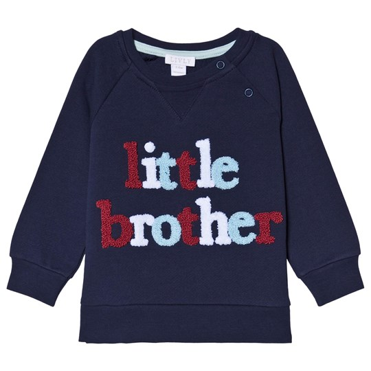 Livly Little Brother Sweatshirt Navy Marinblå