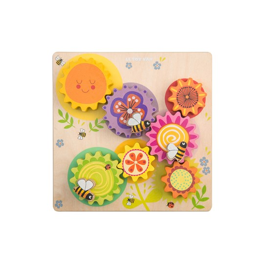 Le Toy Van Petilou® Gears & Cogs 'Busy Bee Learning' Set