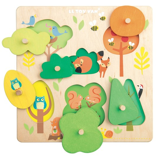 Le Toy Van Petilou® Woodland Tree Puzzle