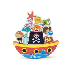 Le Toy Van 'Rock and Stack' Pirate Balans Spel